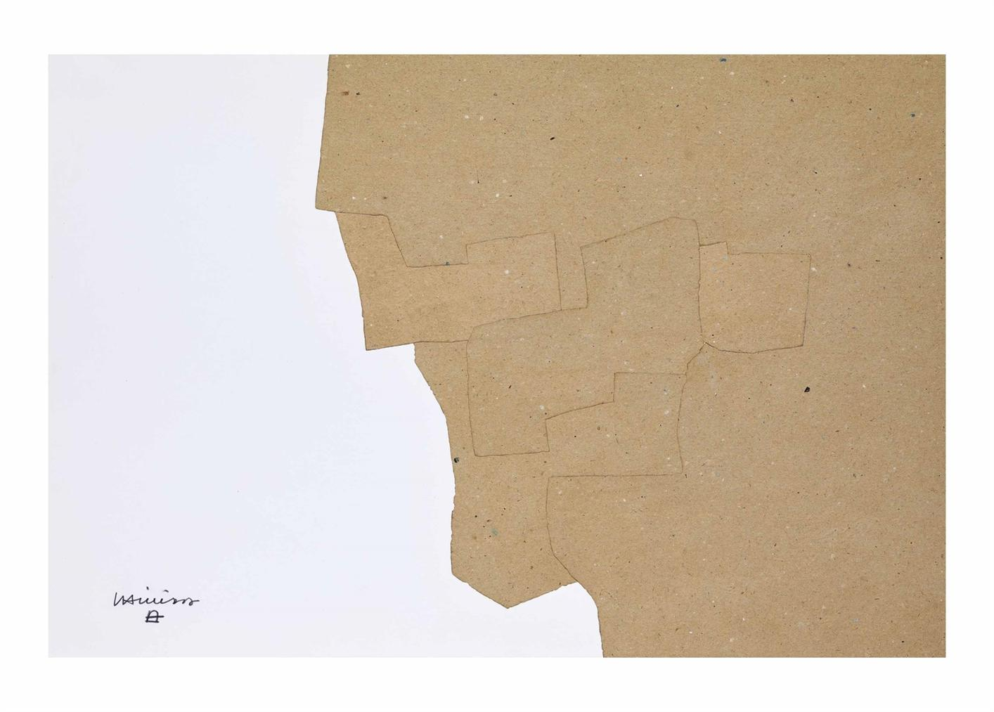 Eduardo Chillida-Sans Titre-1967