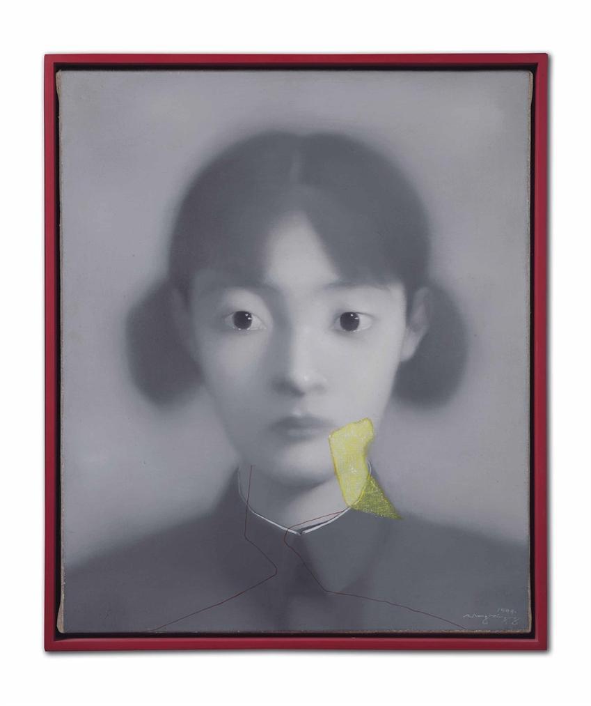 Zhang Xiaogang-Sans Titre (Comrades Series)-1999