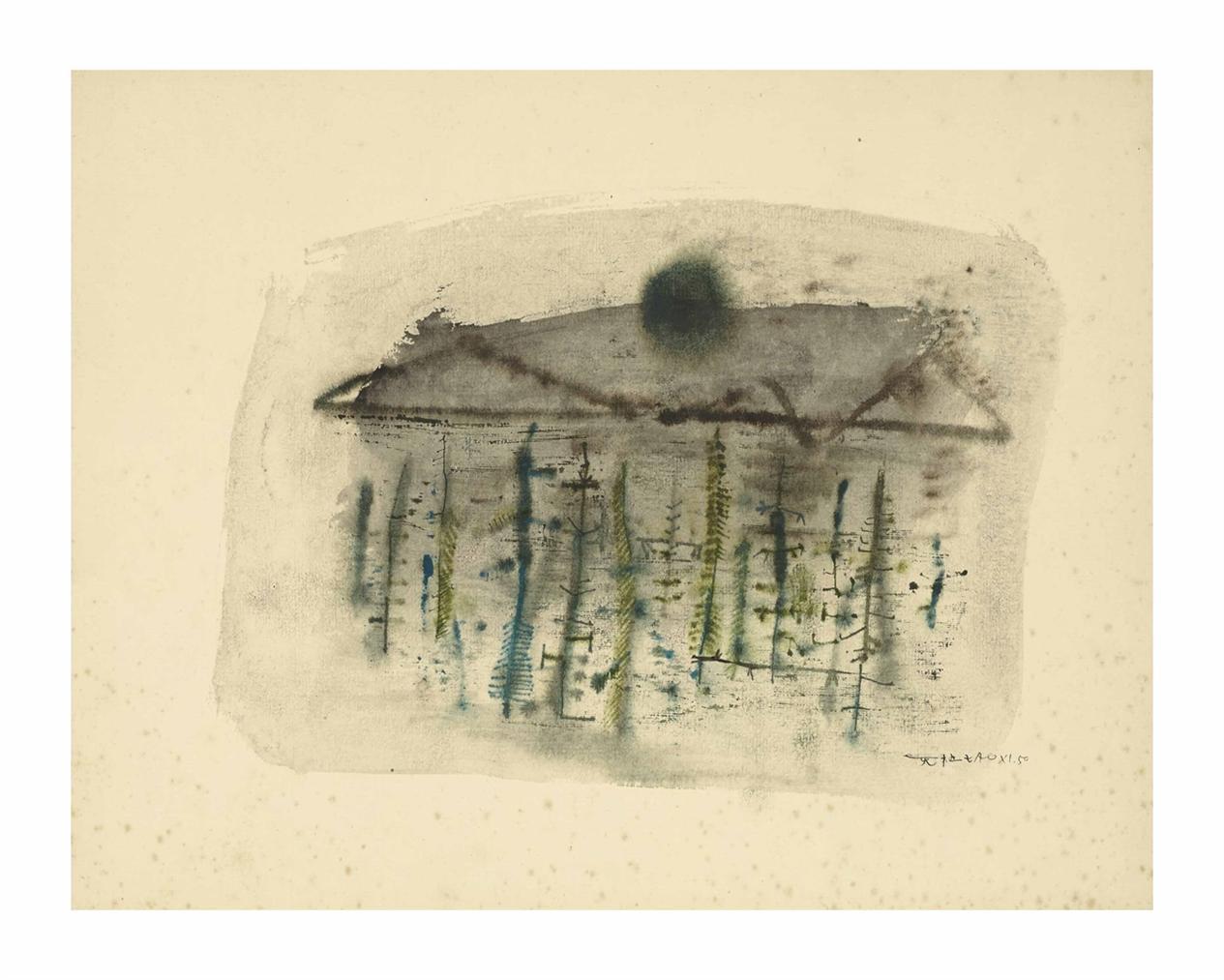 Zao Wou-Ki-Sans Titre-1950