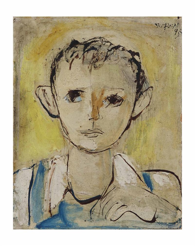 Zao Wou-Ki-Sans Titre (Enfant)-1945
