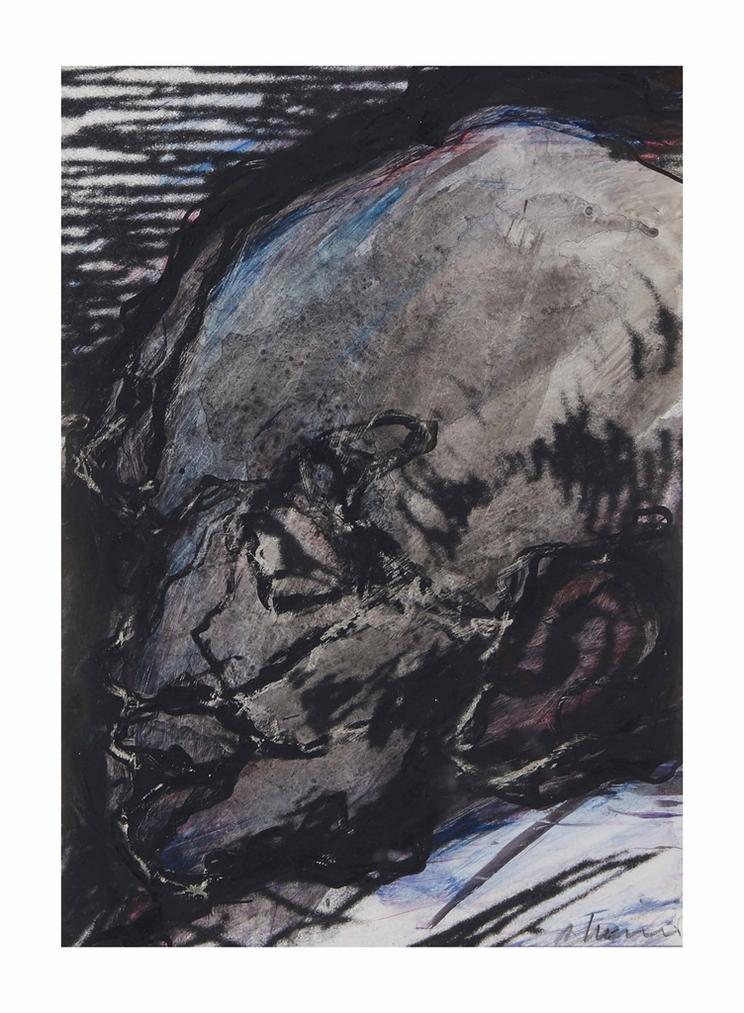 Arnulf Rainer-Gesichter Mit Goya No. 64-1983