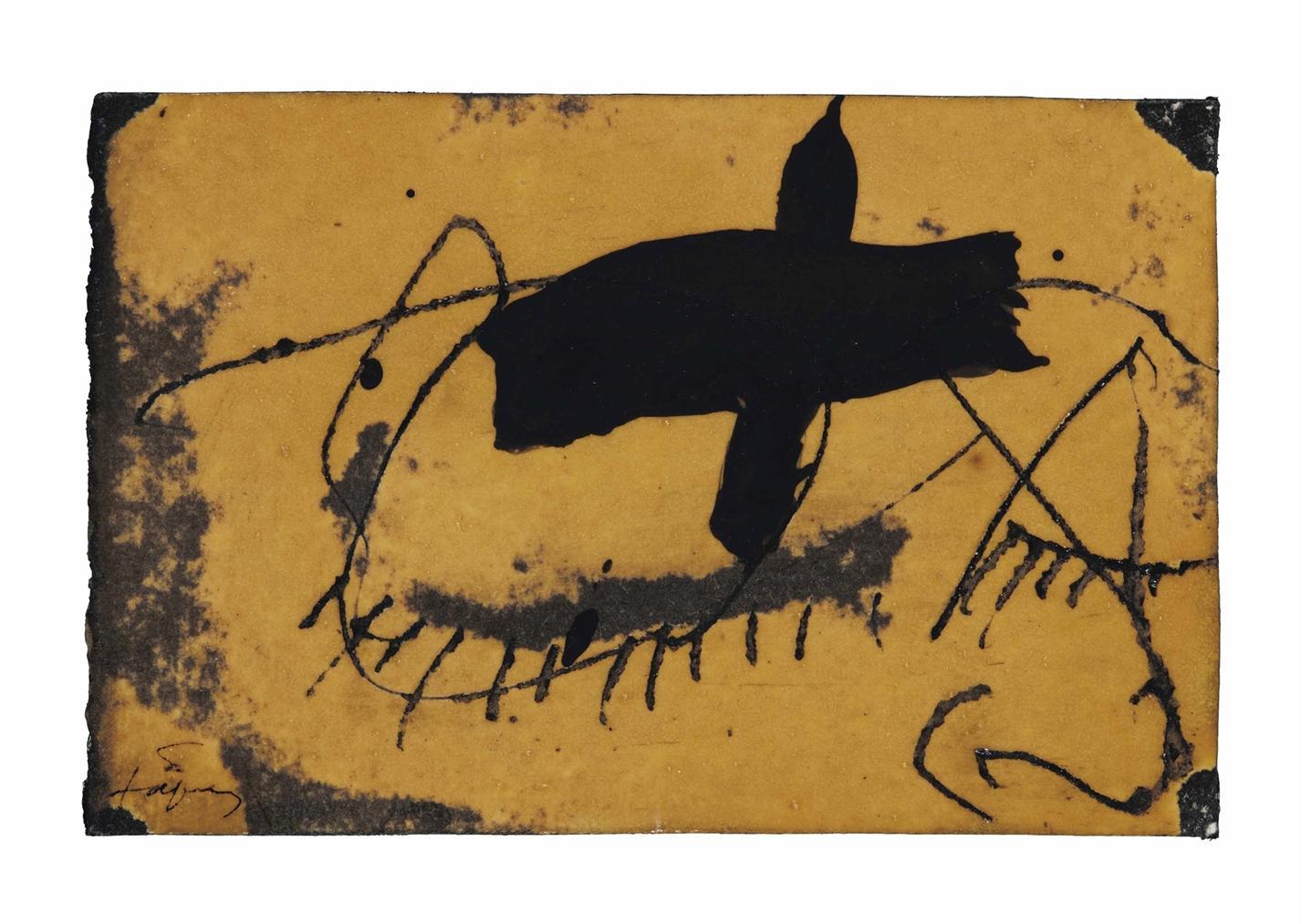 Antoni Tapies-Sans Titre-