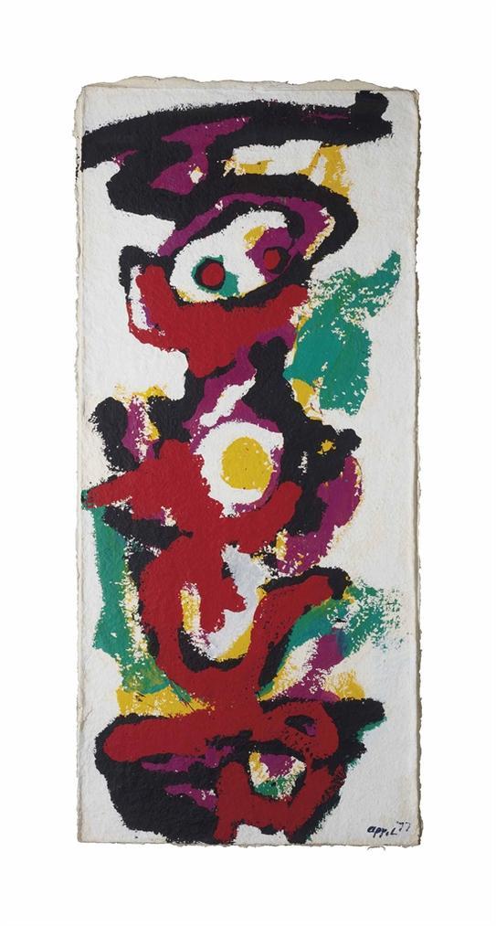 Karel Appel-I Am A Totem-1977