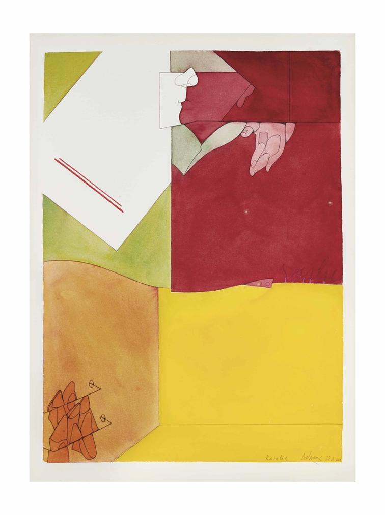 Valerio Adami-Rosalie-1974