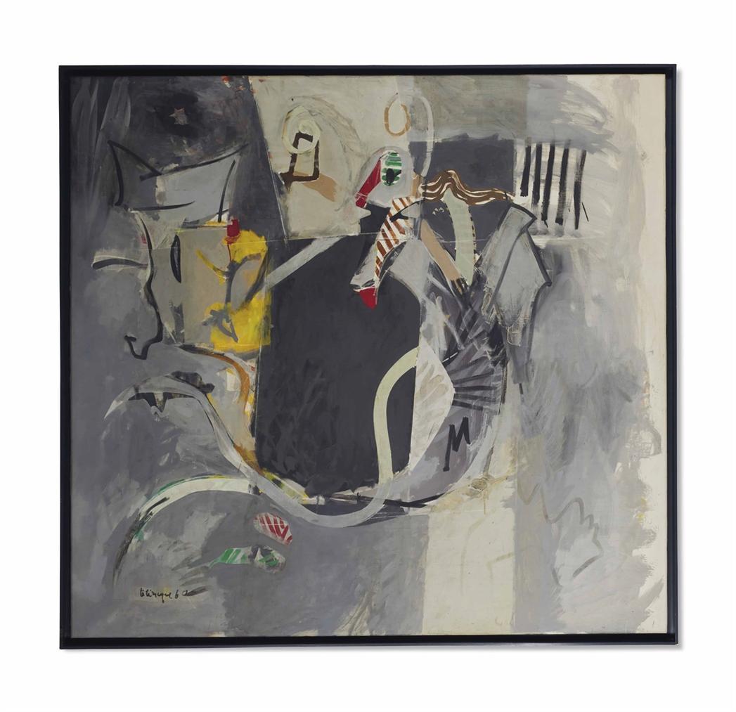 Herve Telemaque-A Partir D'Enguerrand Gourgue-1960