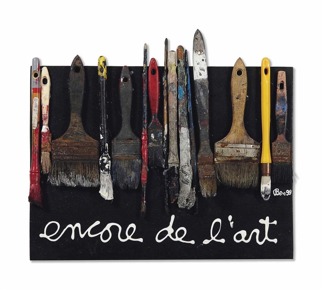 Ben Vautier-Encore De Lart-1999