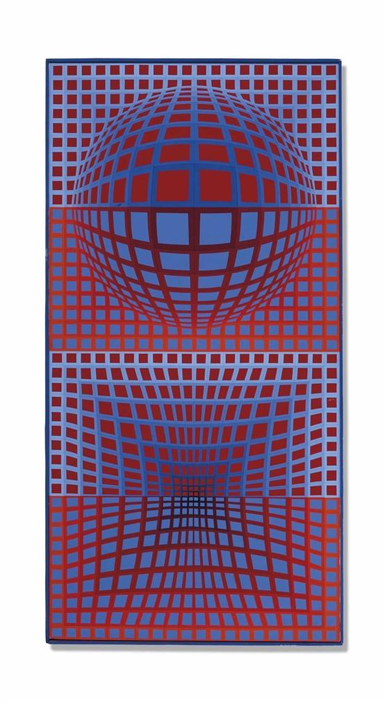 Victor Vasarely-Vp. 116-1970