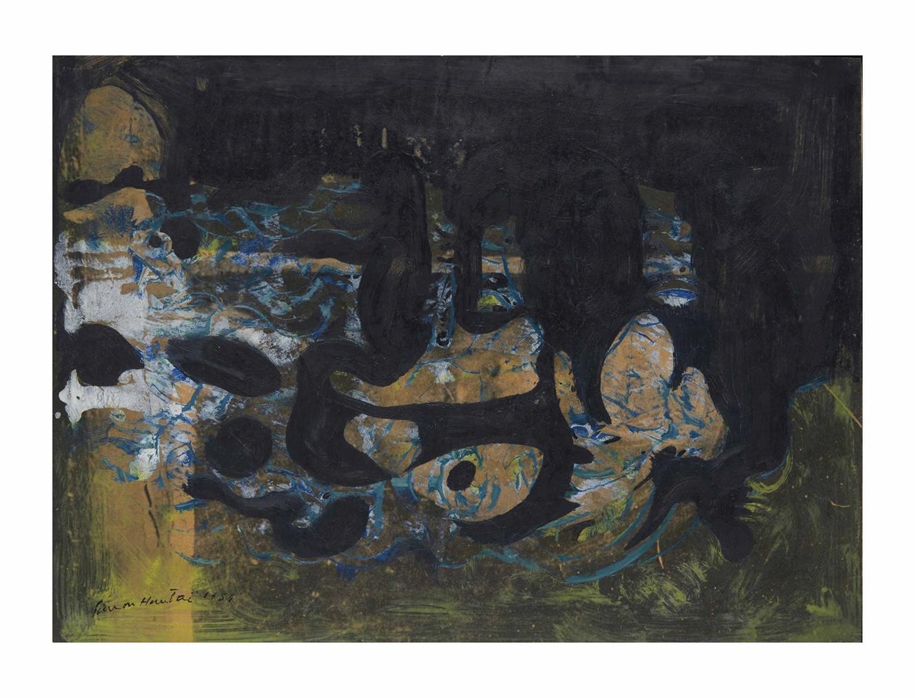 Simon Hantai-Sans Titre-1951