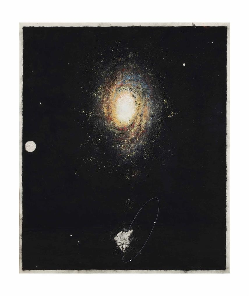 Jean-Luc Jehan-Figure De Corail Et De Galaxie-2003