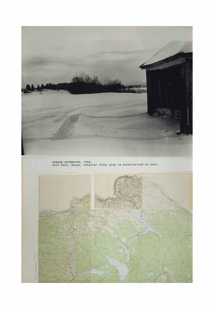 Dennis Oppenheim-Garage Extension-1968