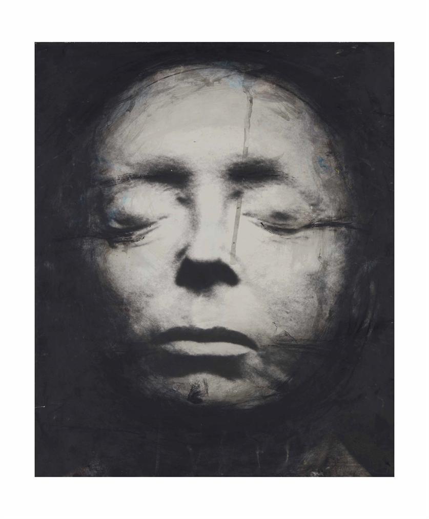 Arnulf Rainer-Edith Piaf-1980