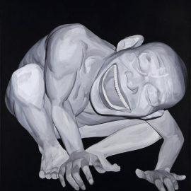 Yue Minjun-Untitled-2002