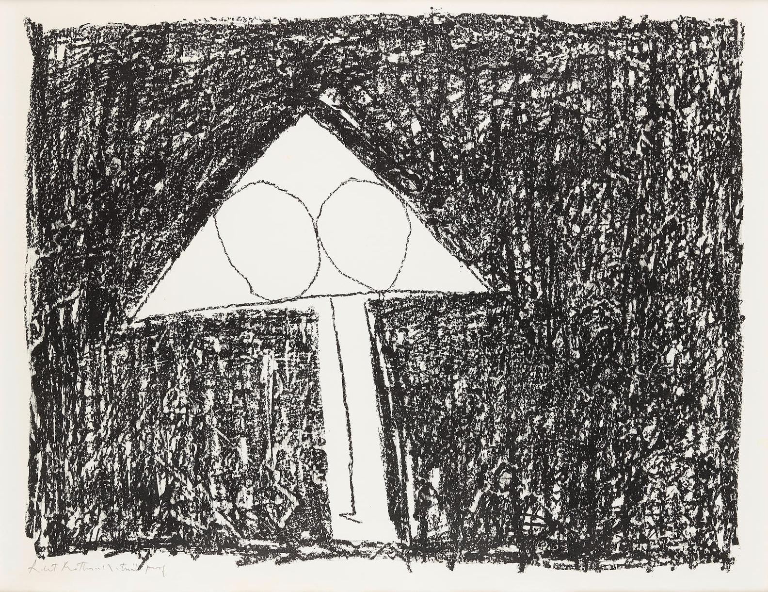 Robert Motherwell-Madrid Suite F (B. 14)-1966