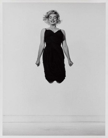 Philippe Halsman-Marilyn Monroe, Jumping-1954