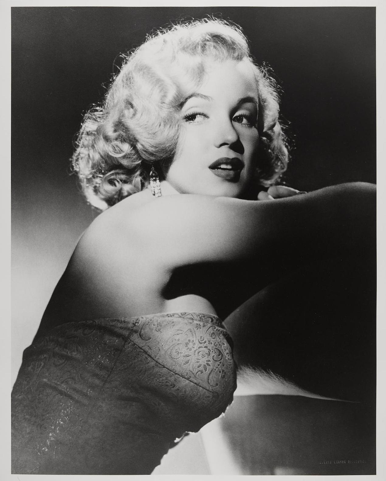 Laszlo Willinger - Marilyn Monroe, Studio Shots (Profile)-1948