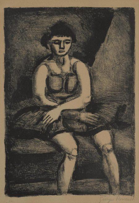Georges Rouault-Lecuyere Assise (C./R. 326)-1927
