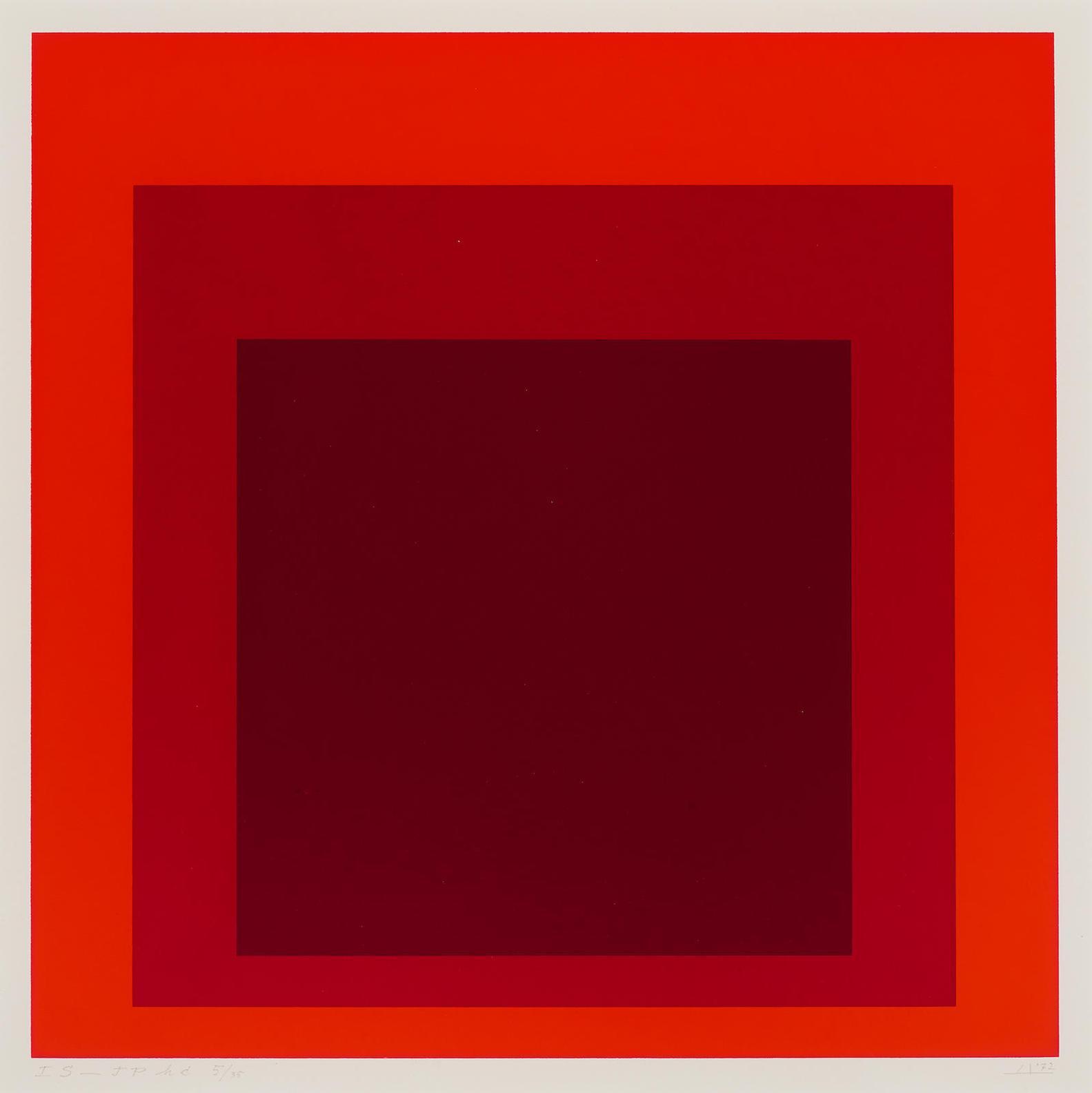 Josef Albers-I-S Jp (D. 217)-1972