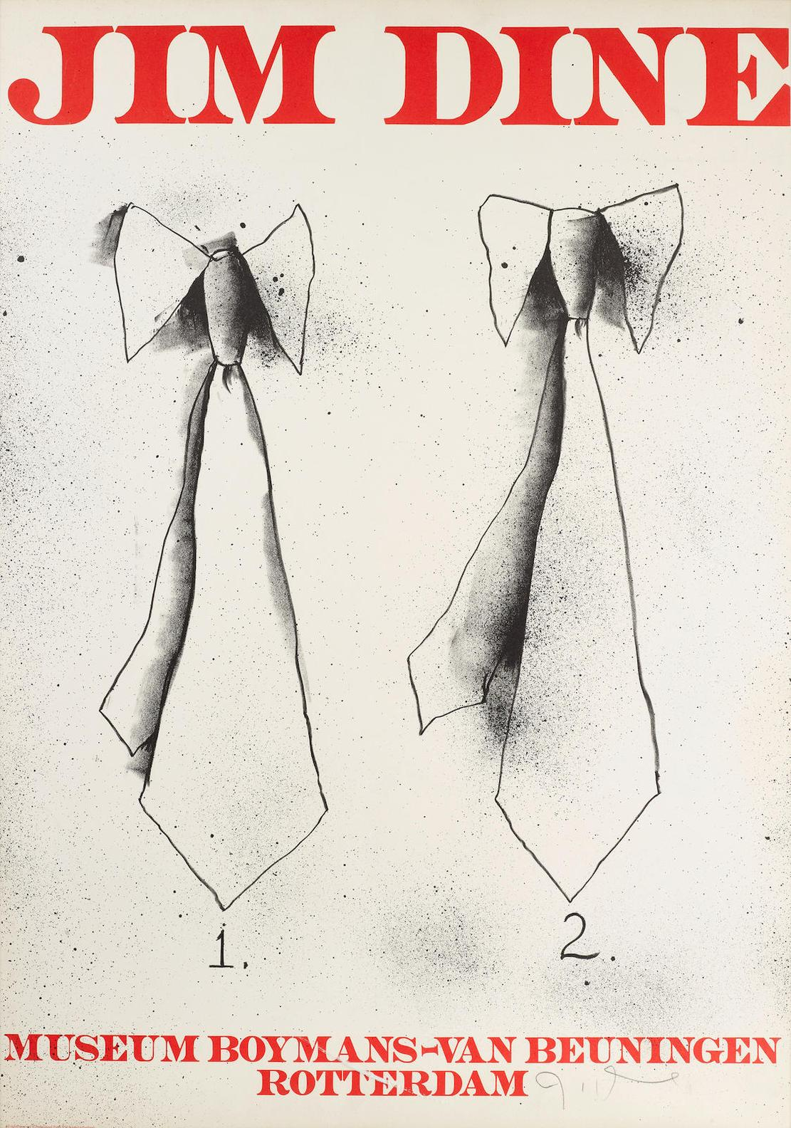 Jim Dine-Museum Boynans-Van Beuningen; Paris Review-1975