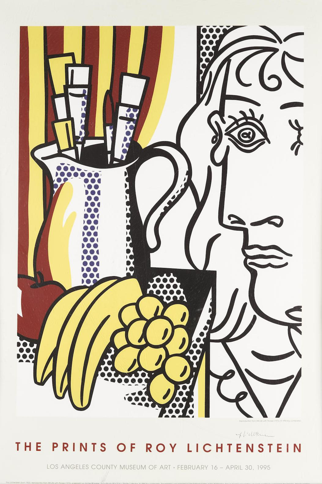 After Roy Lichtenstein - Still Life With Picasso (Los Angeles County Museum)-1973