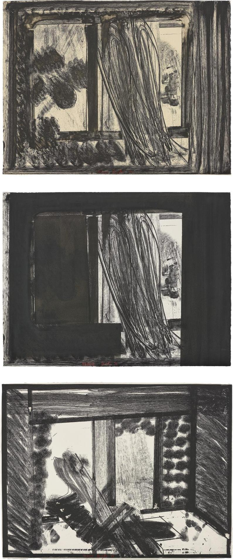 Howard Hodgkin-In The Museum Of Modern Art: Three Plates-1979