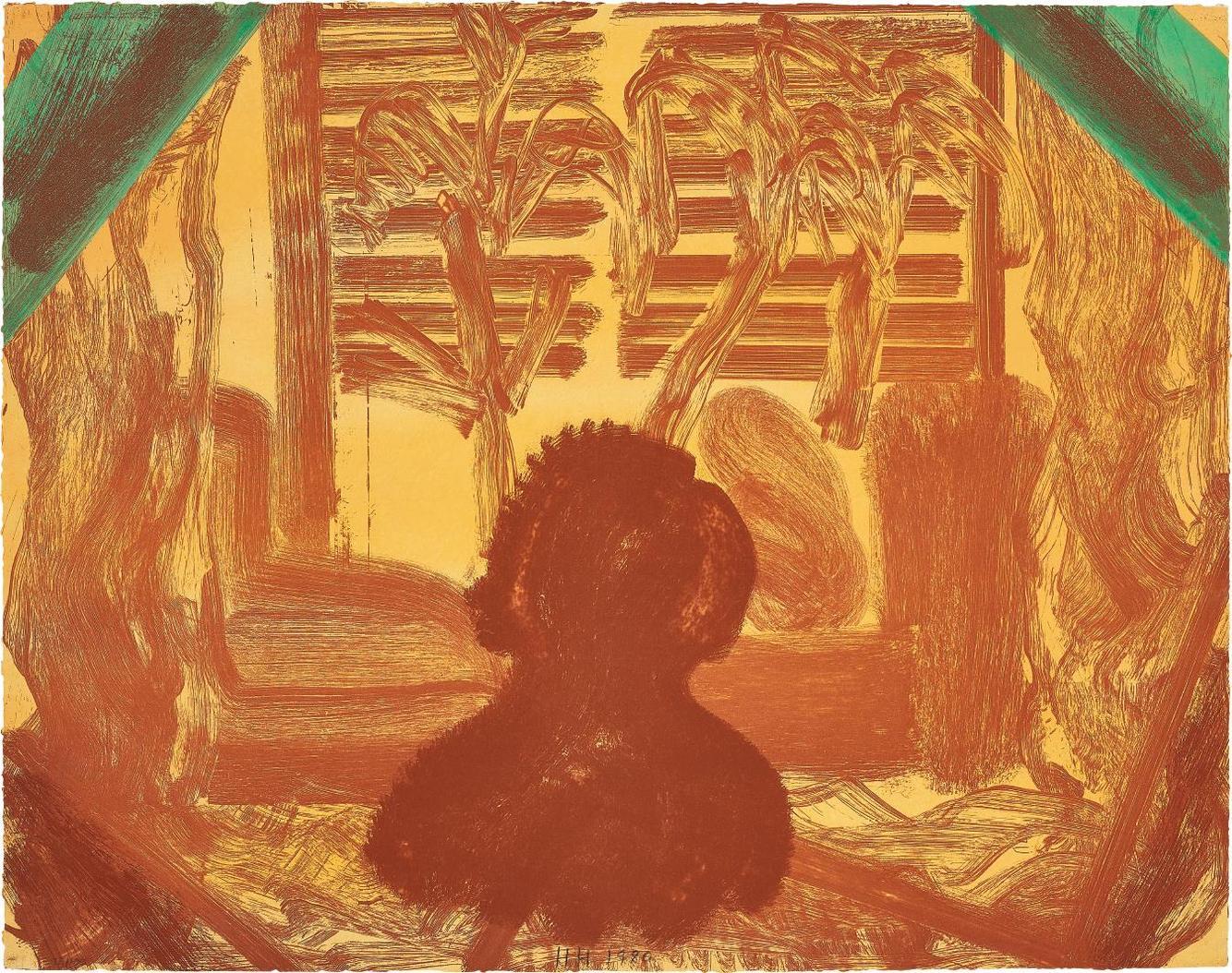 Howard Hodgkin-Those...Plants-1980