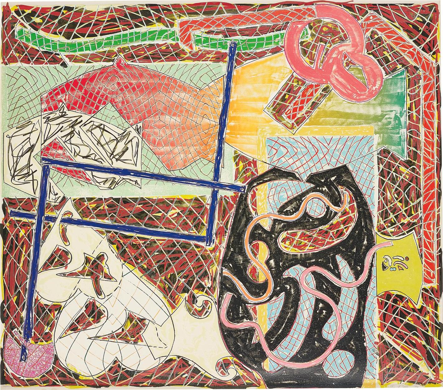 Frank Stella-Shards II, From Shards-1982