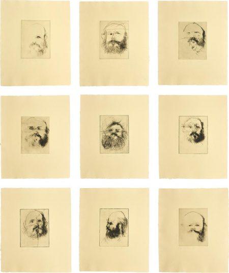 Jim Dine-Self Portraits-1971