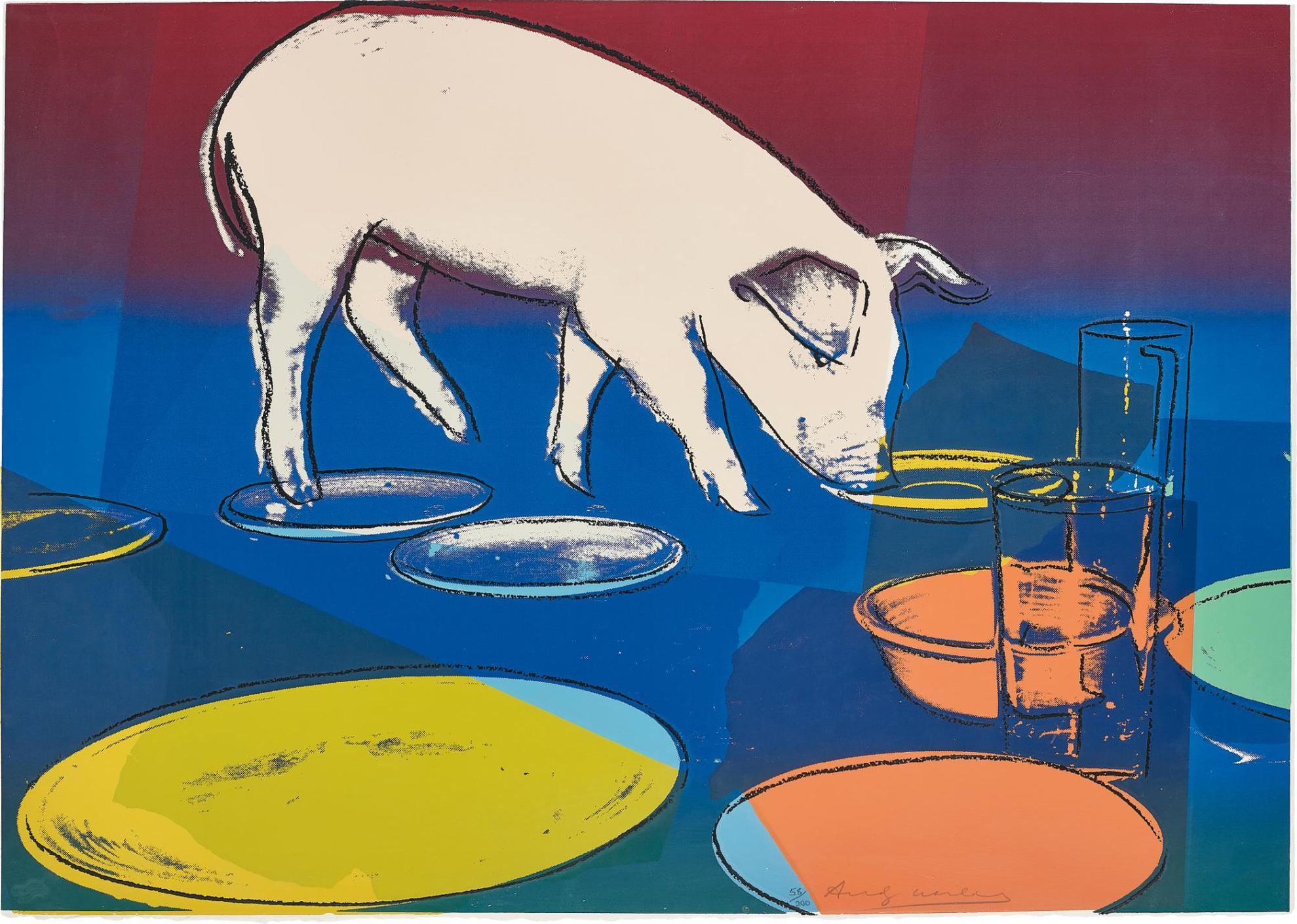 Andy Warhol-Fiesta Pig-1979