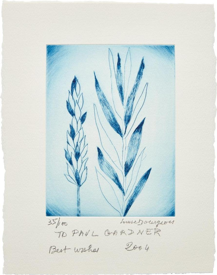 Louise Bourgeois-Untitled (Holiday Laurel)-2004