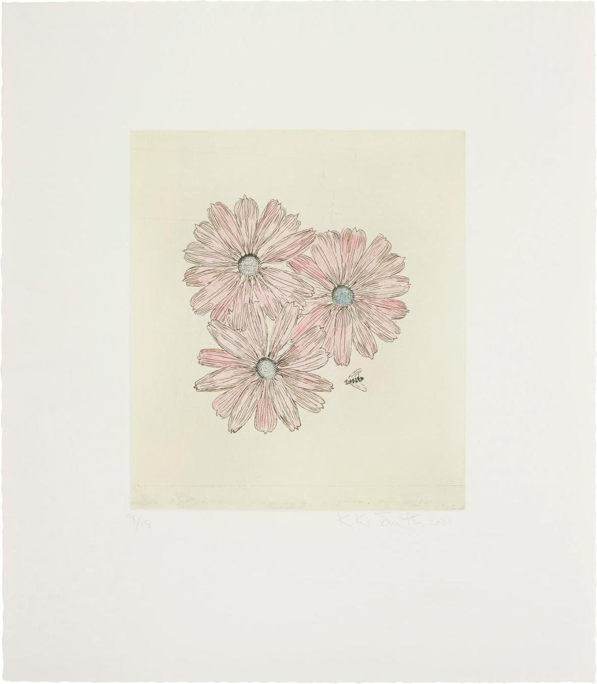 Kiki Smith-Flower With Bee (1)-2000