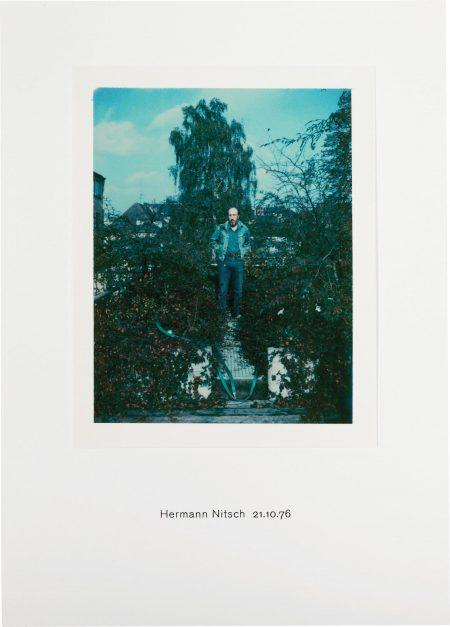 Richard Hamilton-Polaroid Portrait, Hermann Nitsch 21.10.76-2010