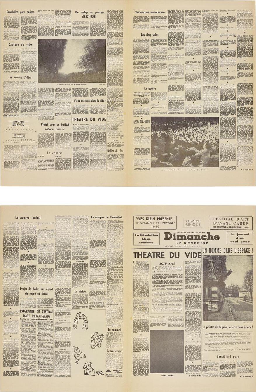 Yves Klein-Le Dimanche 27 Novembre 1960: Le Journal D'Un Seul Jour (Sunday 27Th November: The Journal Of A Single Day)-1960