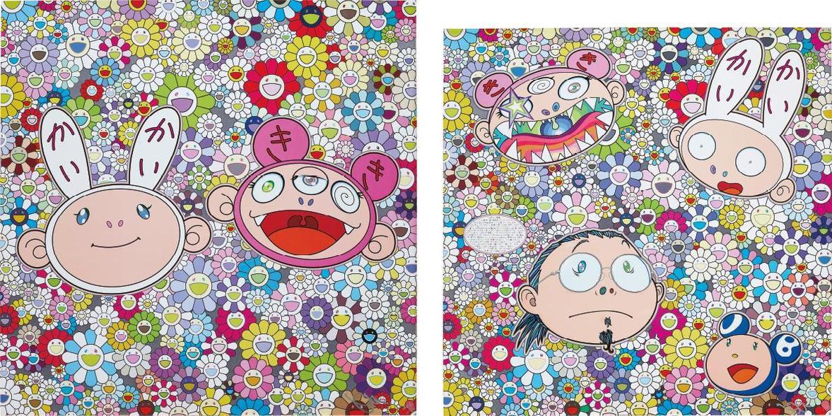 Takashi Murakami-The Creative Mind; And Kaikai & Kiki: Dreaming Of Shangri-La-2015
