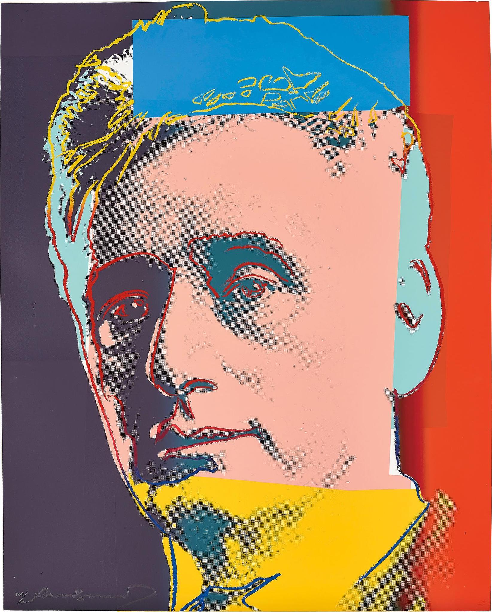 Andy Warhol-Louis Brandeis, From Ten Portraits Of Jews Of The Twentieth Century-1980