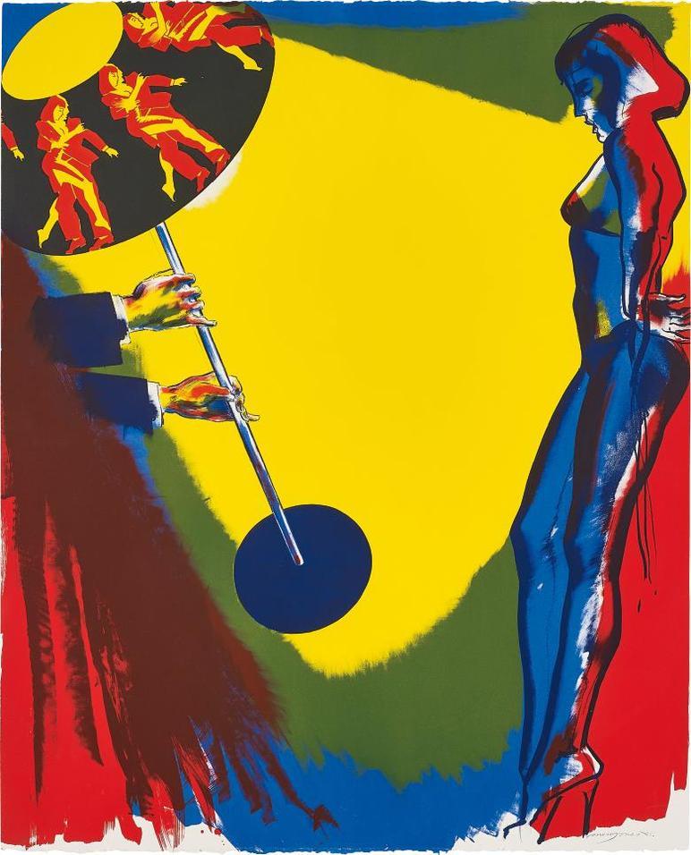 Allen Jones-On The Spot, From Para Adultos-1985