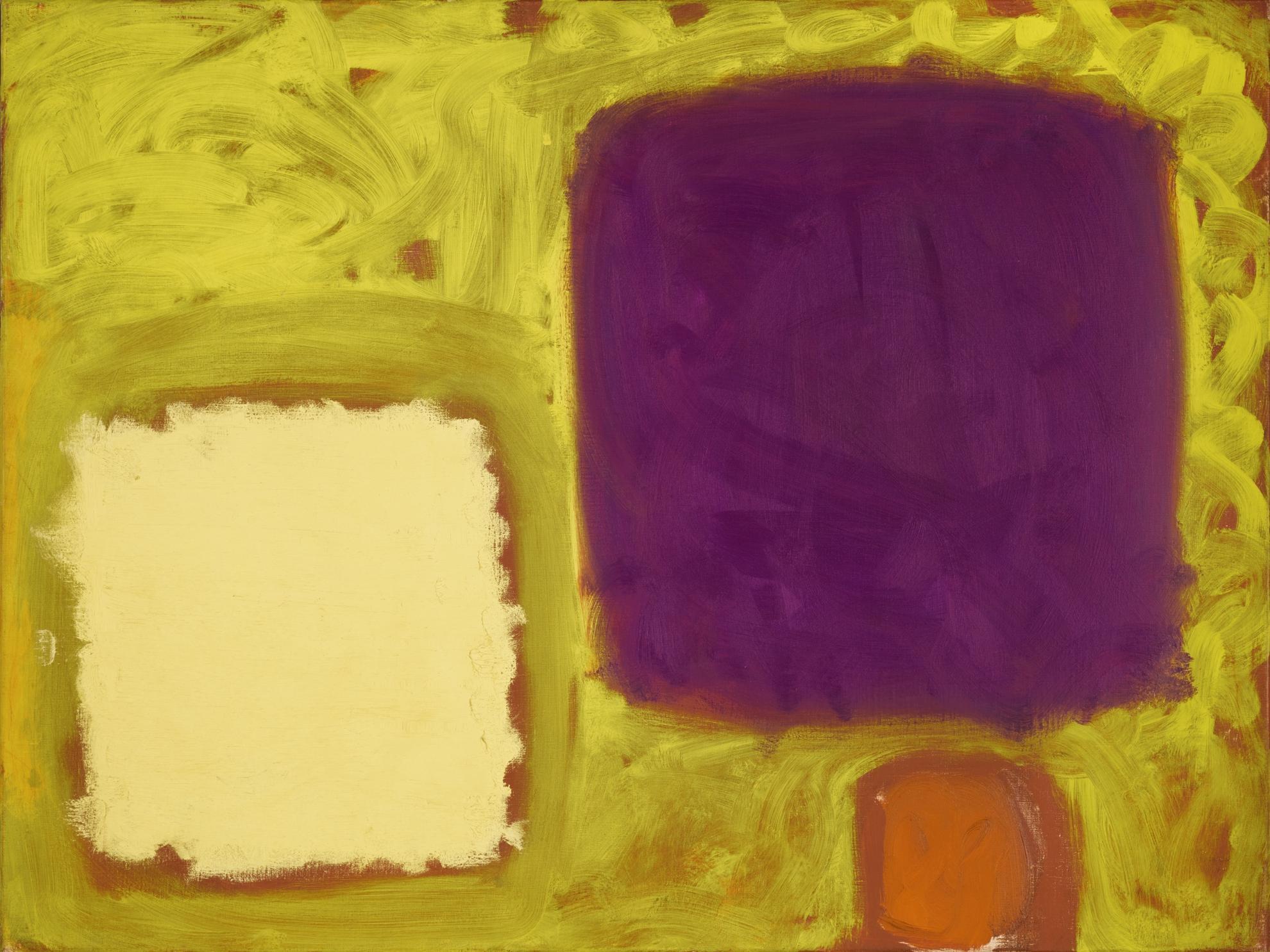 Patrick Heron-January Yellows (Naples & Violet): January 1960-1960