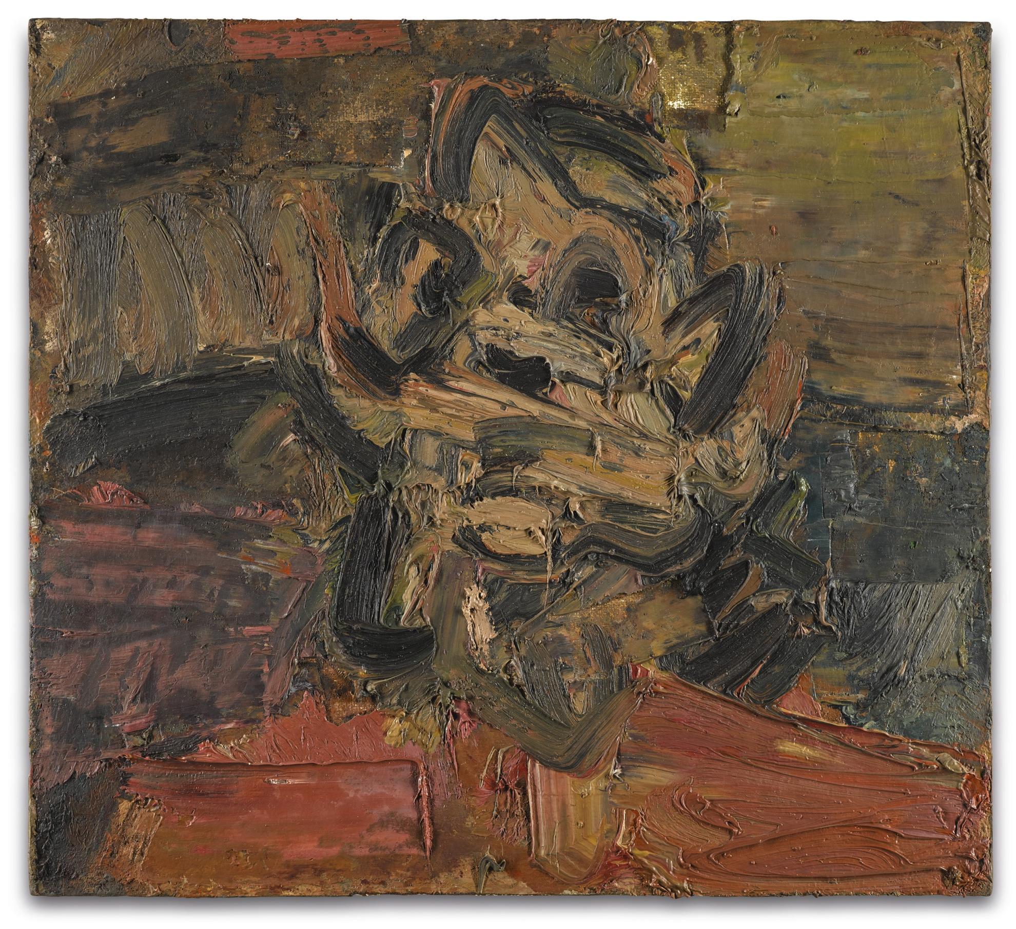 Frank Auerbach-Head Of Jym III-1981