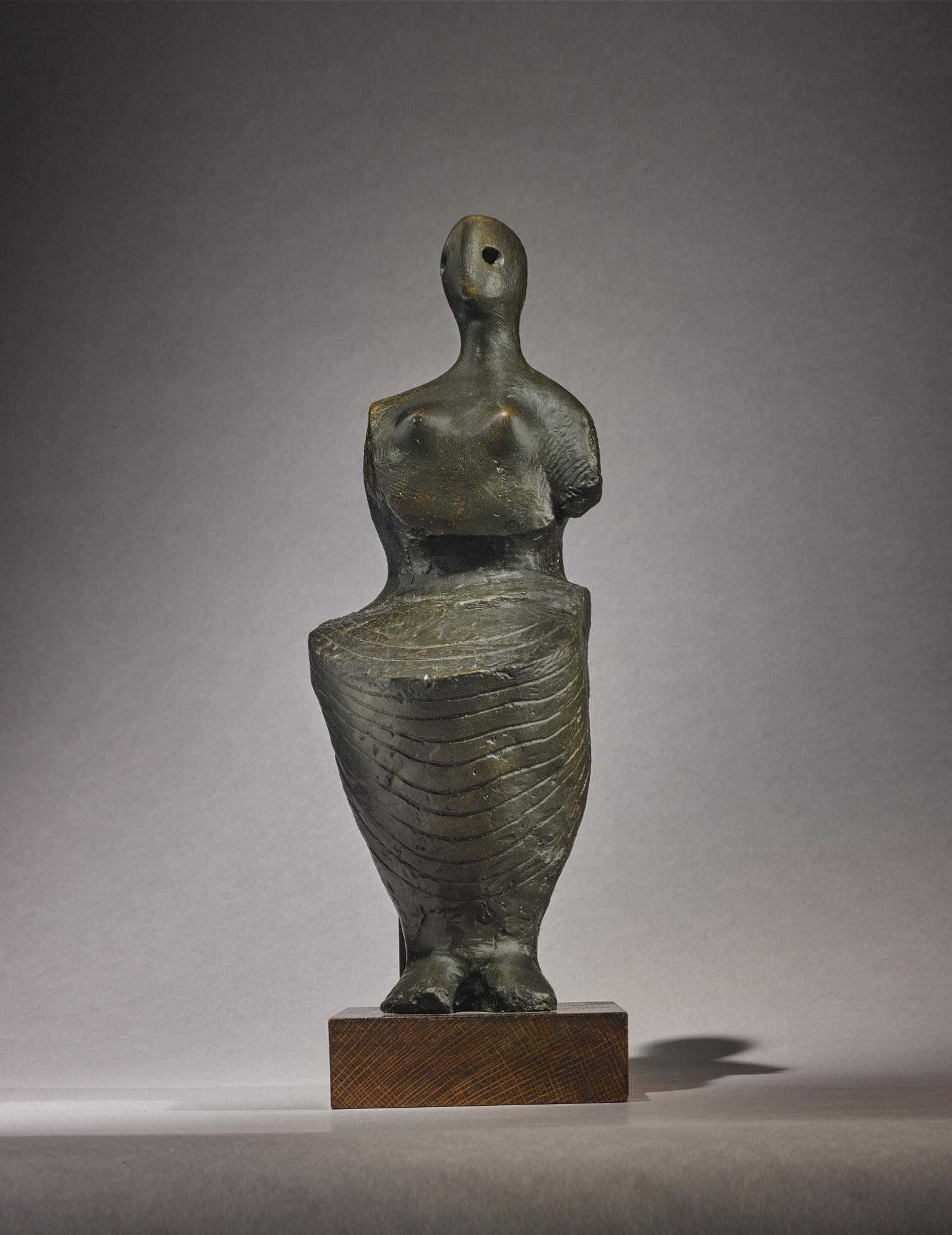 Henry Moore-Seated Figure: Armless-1955
