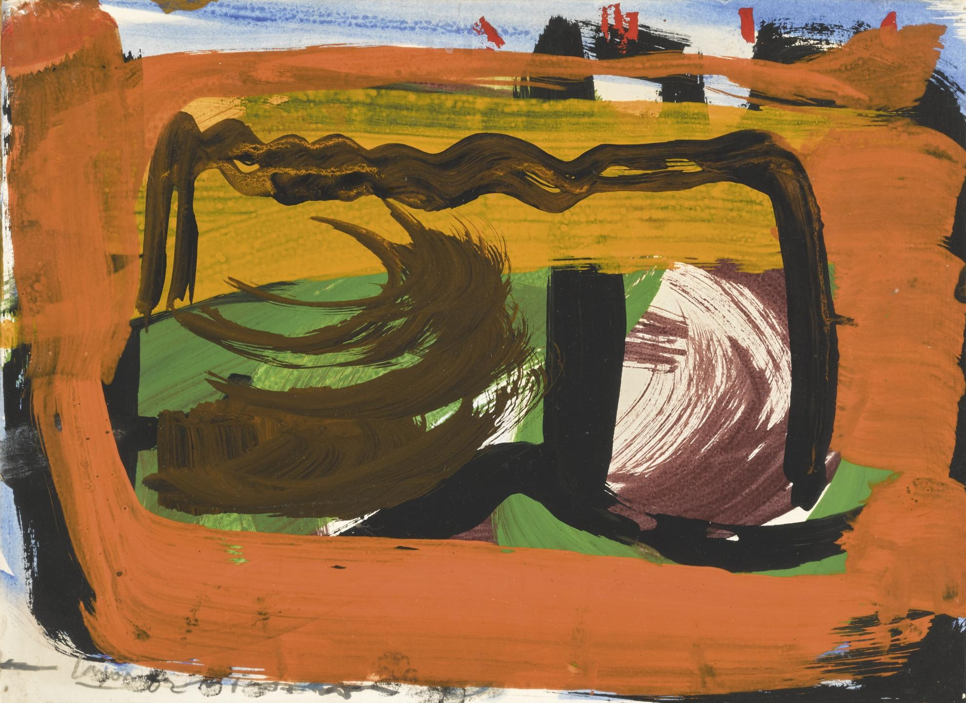 Peter Lanyon-Brick Walk Around-1962