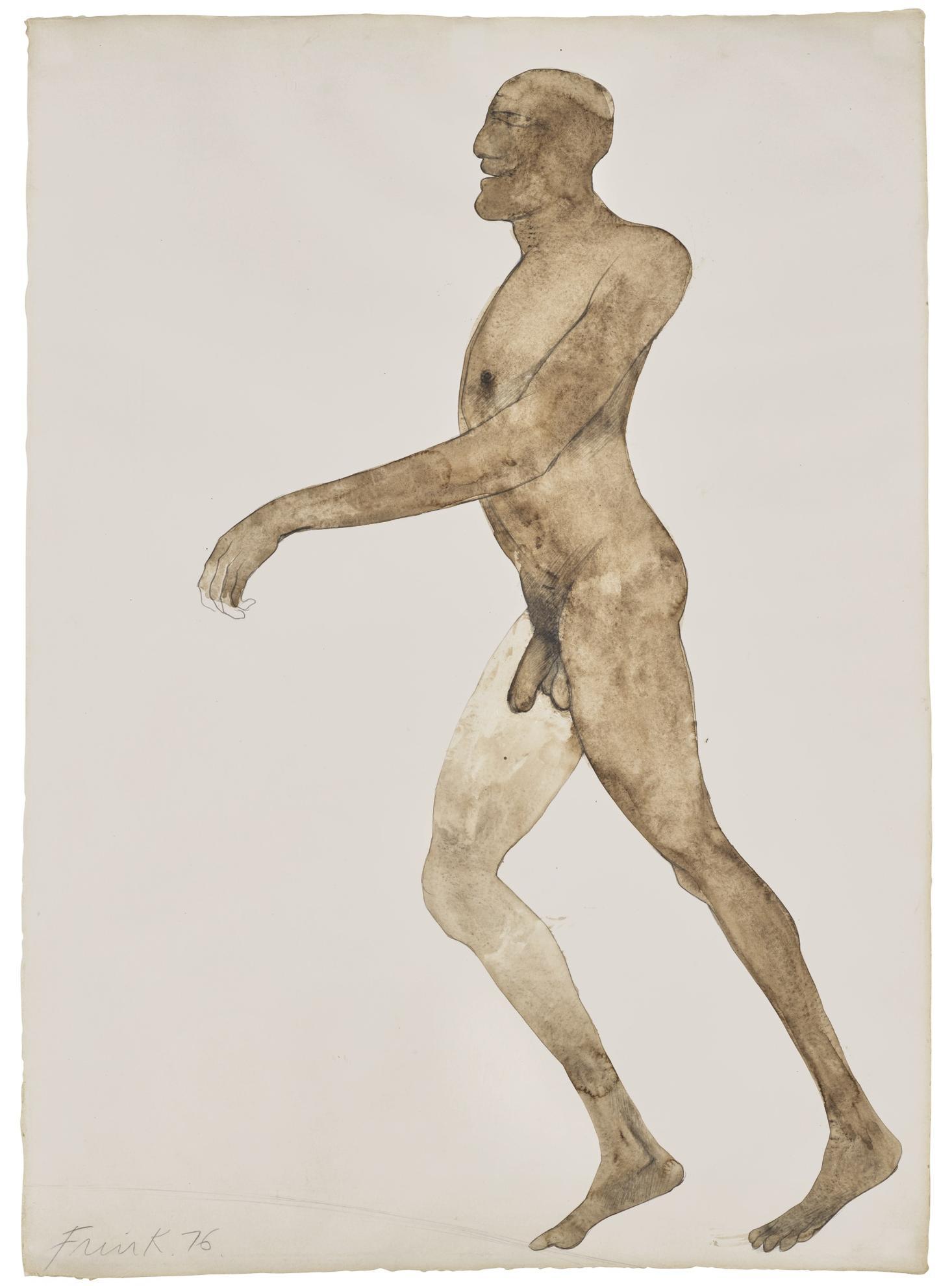 Dame Elisabeth Frink - Running Man-1976