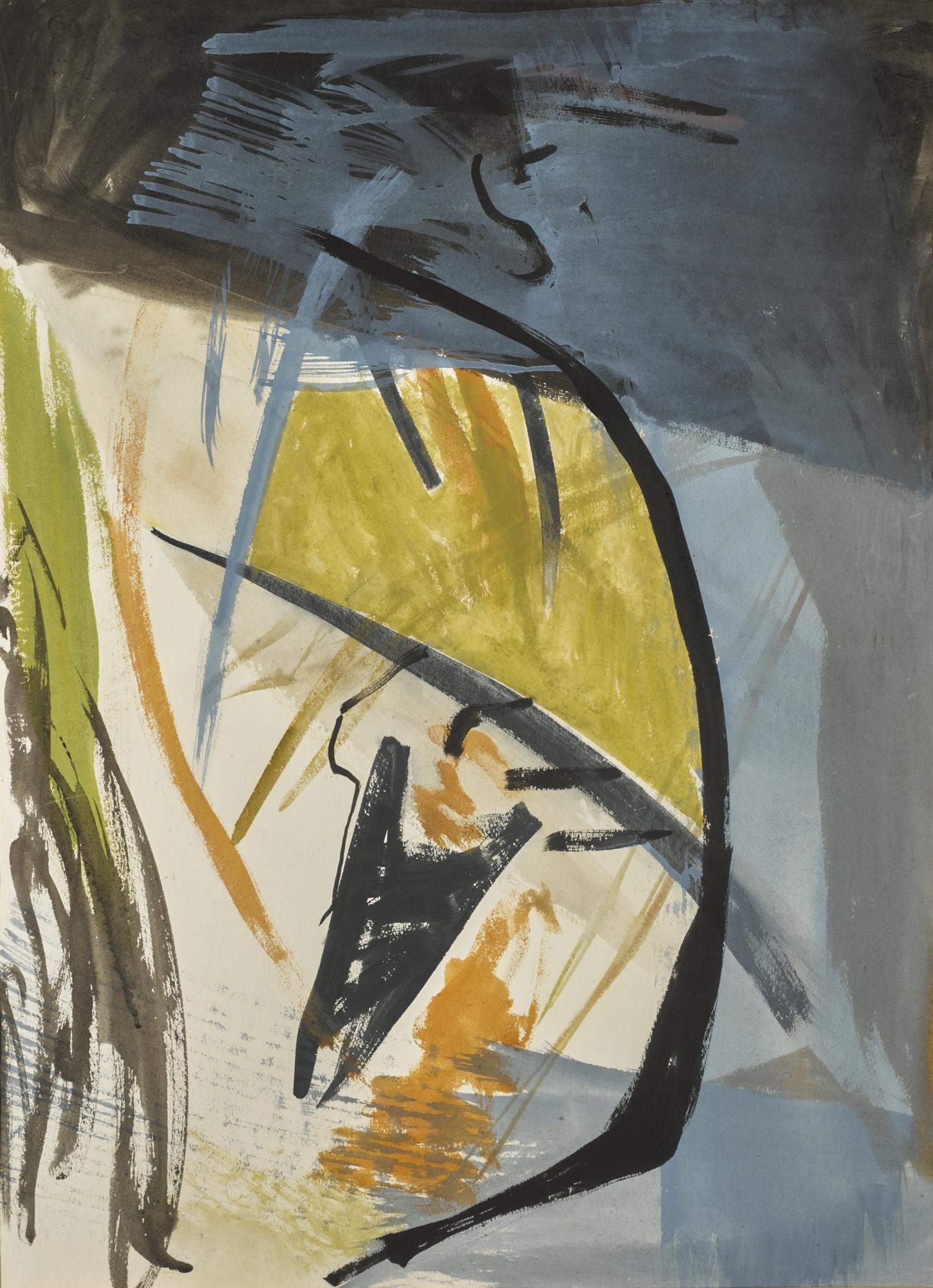 Peter Lanyon-Cliff Below-1961