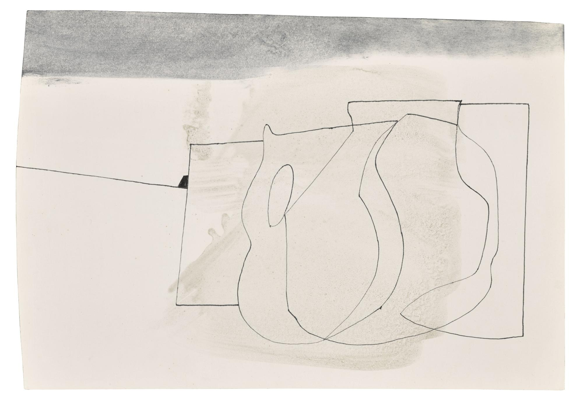 Ben Nicholson-Mch 13 78 (Sculptured Forms One)-