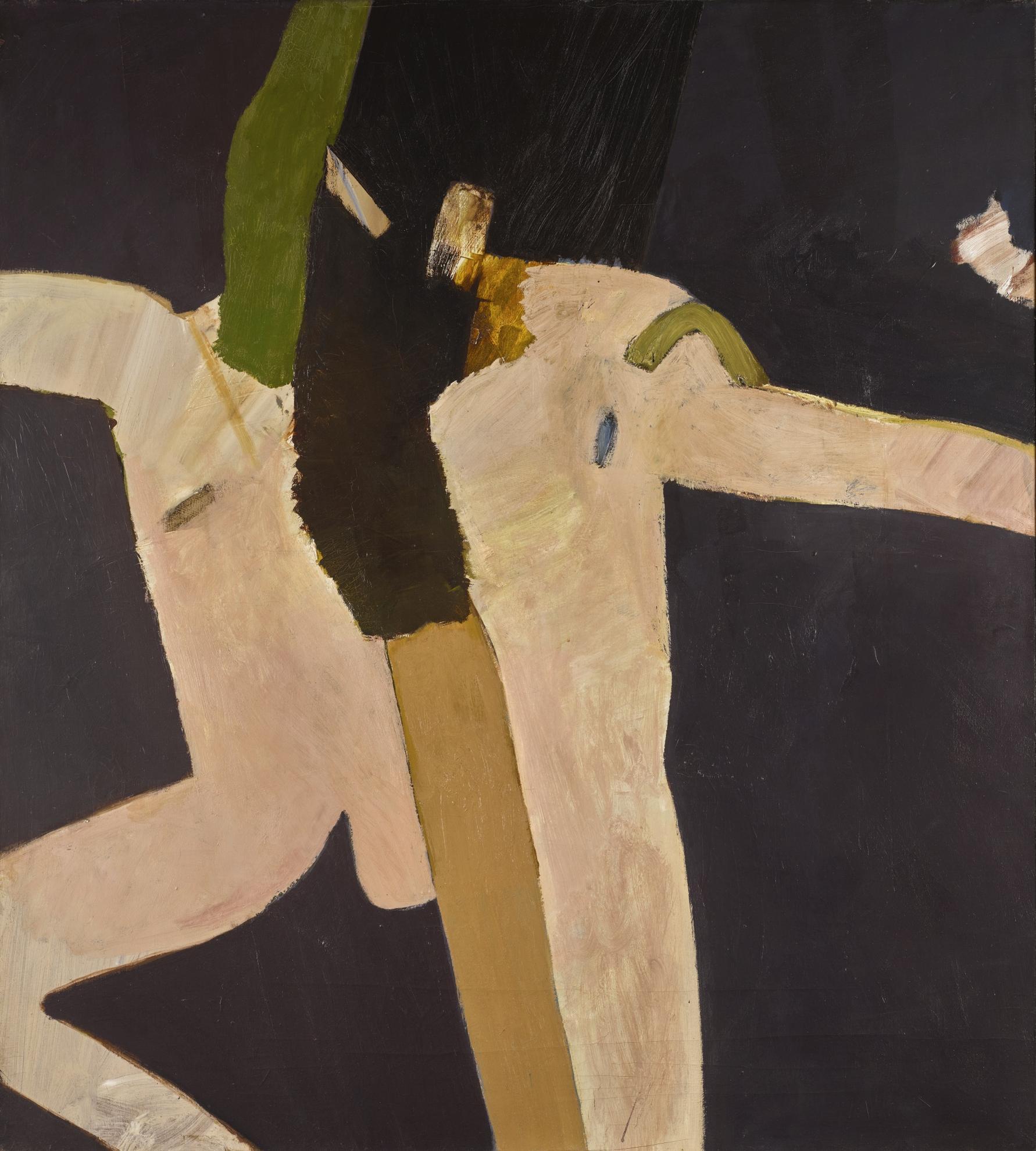 Keith Vaughan-Two Figures (Damson)-1966