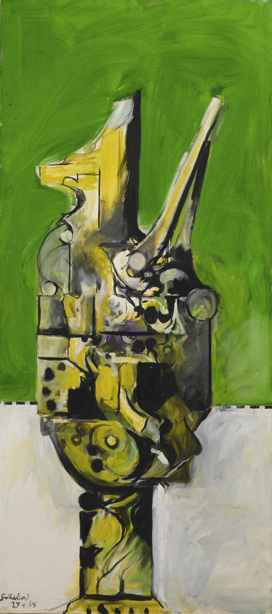 Graham Sutherland-Form With Upstretched Arms-1965