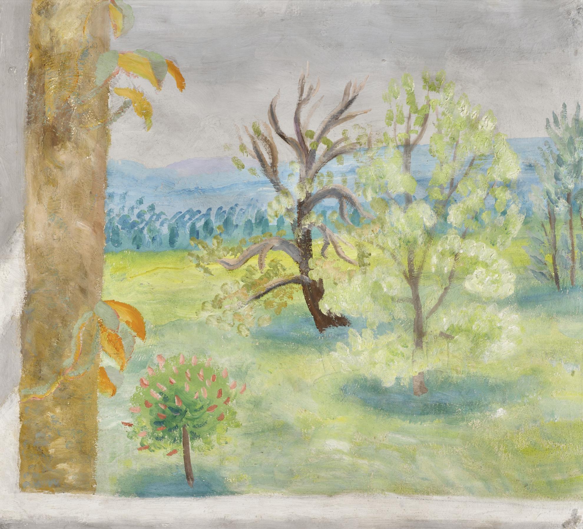 Winifred Nicholson-Monks Park, Corsham-1953