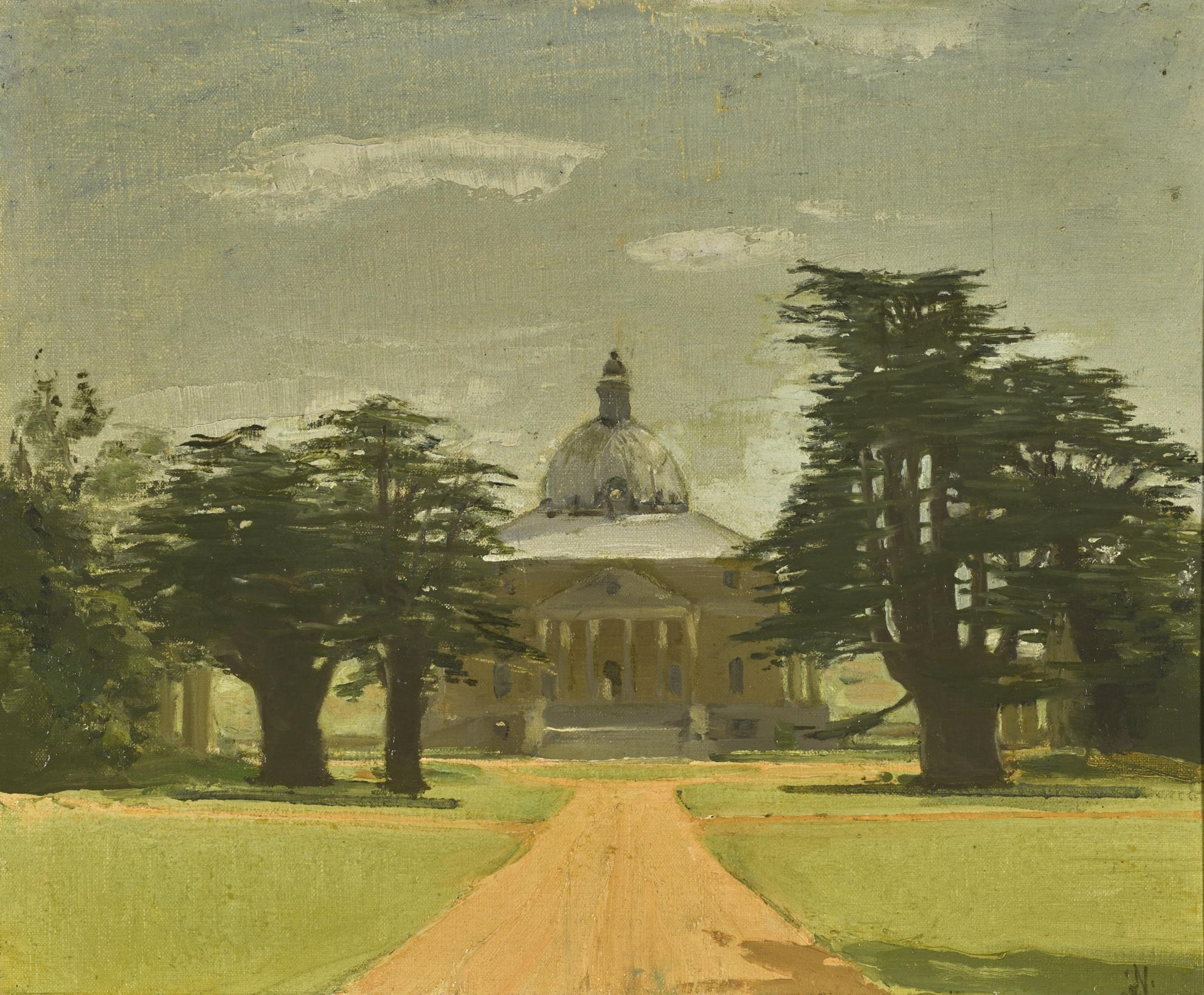 William Nicholson-Mereworth Castle, Kent-1934