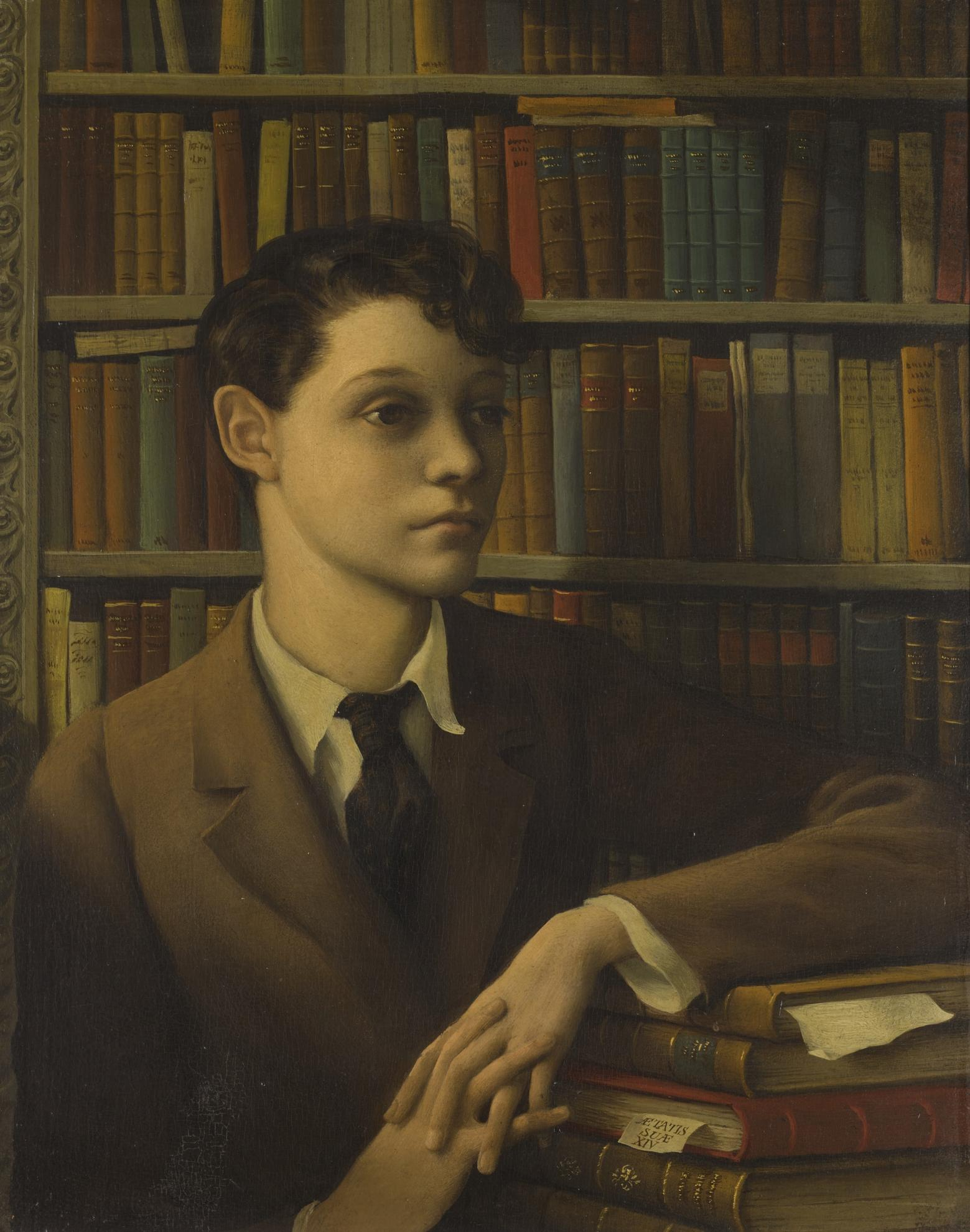 Rex Whistler-Portrait Of Henry Paget-1930