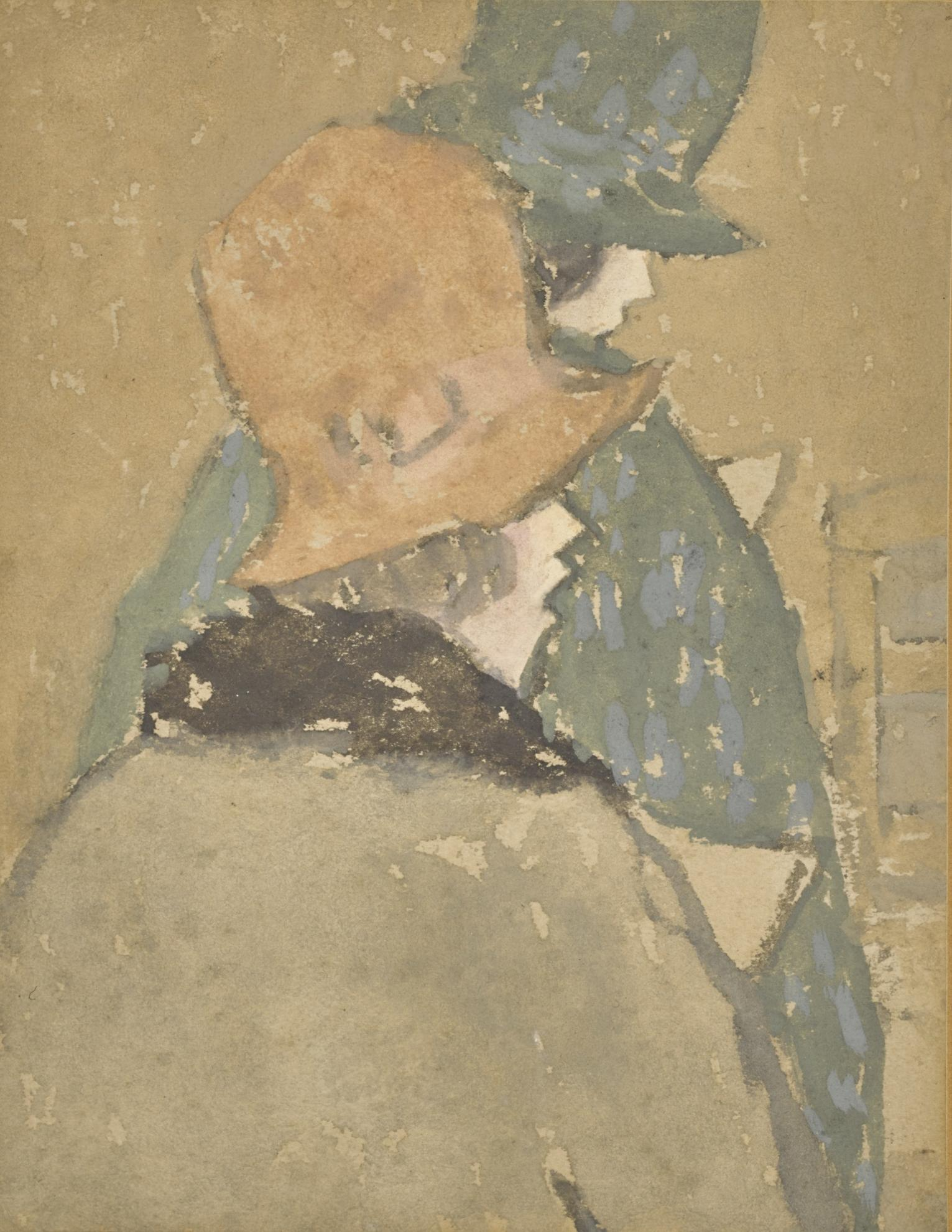 Gwen John-Two Women With High Crowned Hats-