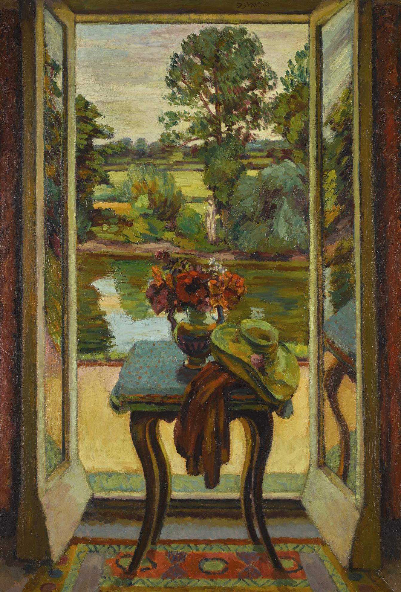 Duncan Grant-The French Window, Charleston-1953