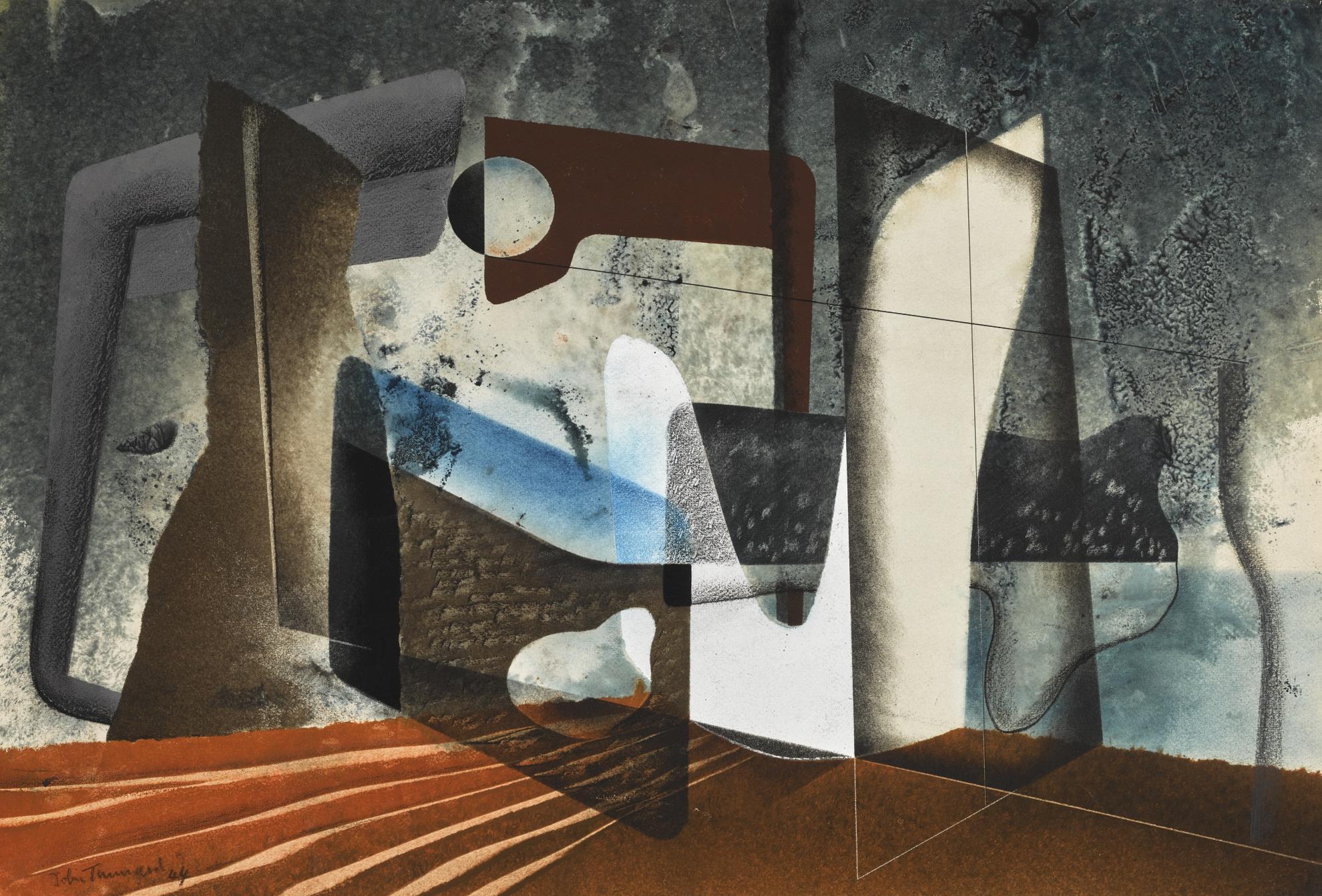 John Tunnard-Composition-1944